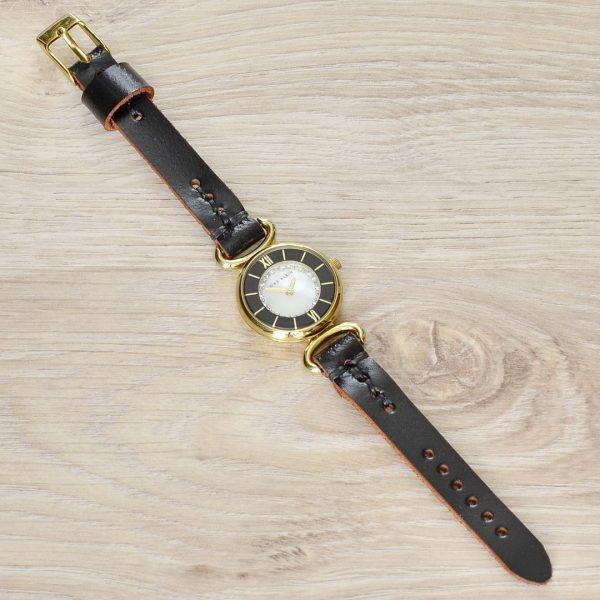женский кожаный ремешок для часов ручной работы