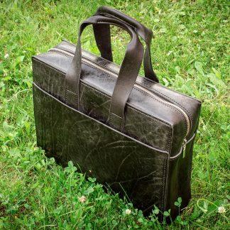 мужская сумка кожа черная ручная работа эксклюзив