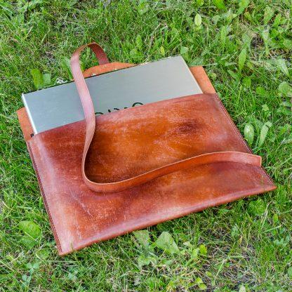 Кожаный чехол (кейс) для MacBook Air ручная работа