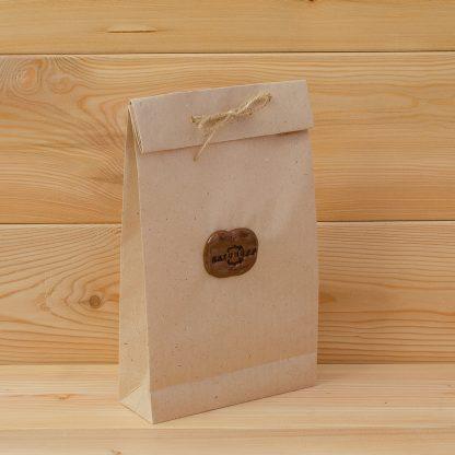 Katunoff крафтовый пакет с фирменной печатью на сургуче