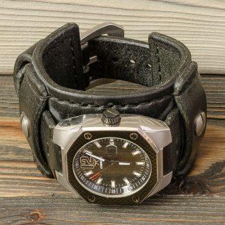 ремешок для часов ручной работы, натуральная кожа, Katunoff